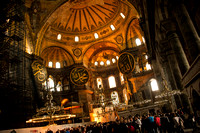 Lost in the Grandeur of Hagia Sophia: the Domes, the Scriptures and the Light