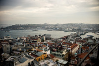 Istanbul in Golden lights: from Galata Tower