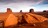 Monument Valley Navajo Tribal Park - dawn to dusk