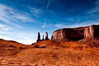 Mid day -  Monument valley